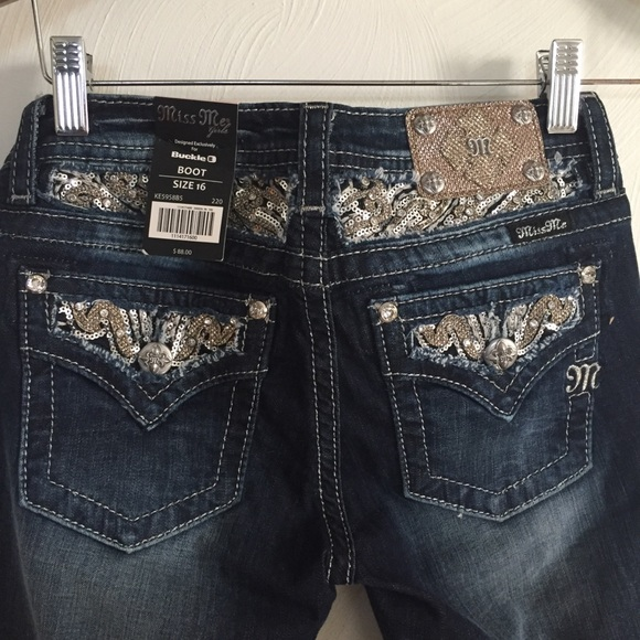 Miss Me Other - Miss Me Girls bootcut jeans